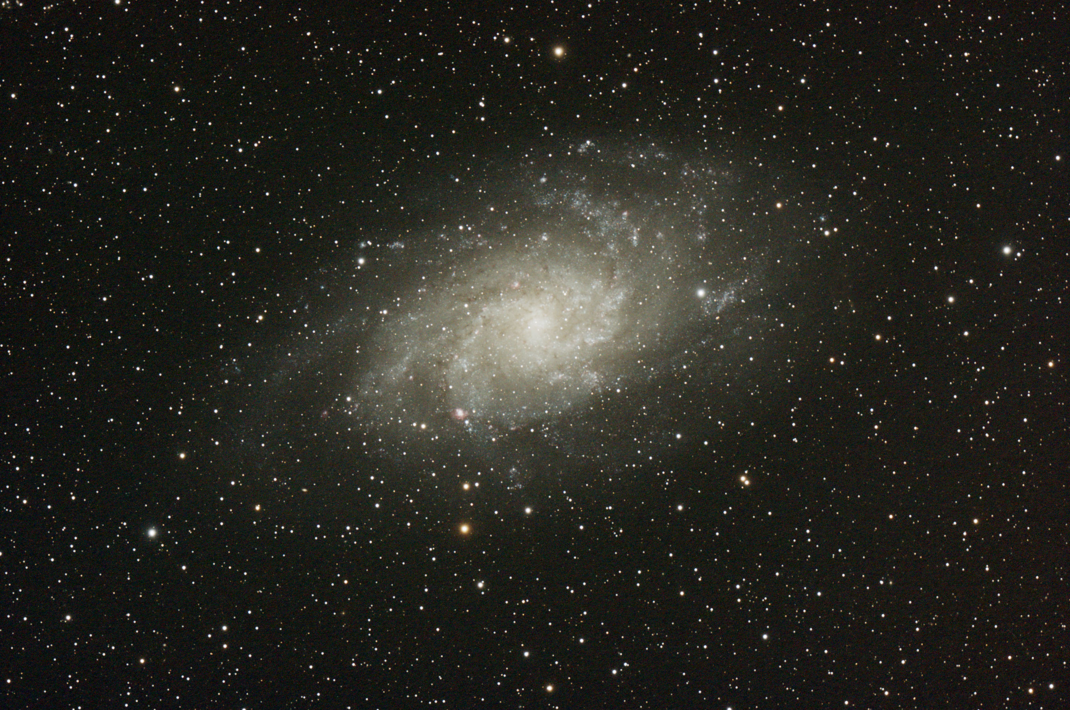 M 33 - Galaxie du Triangle
